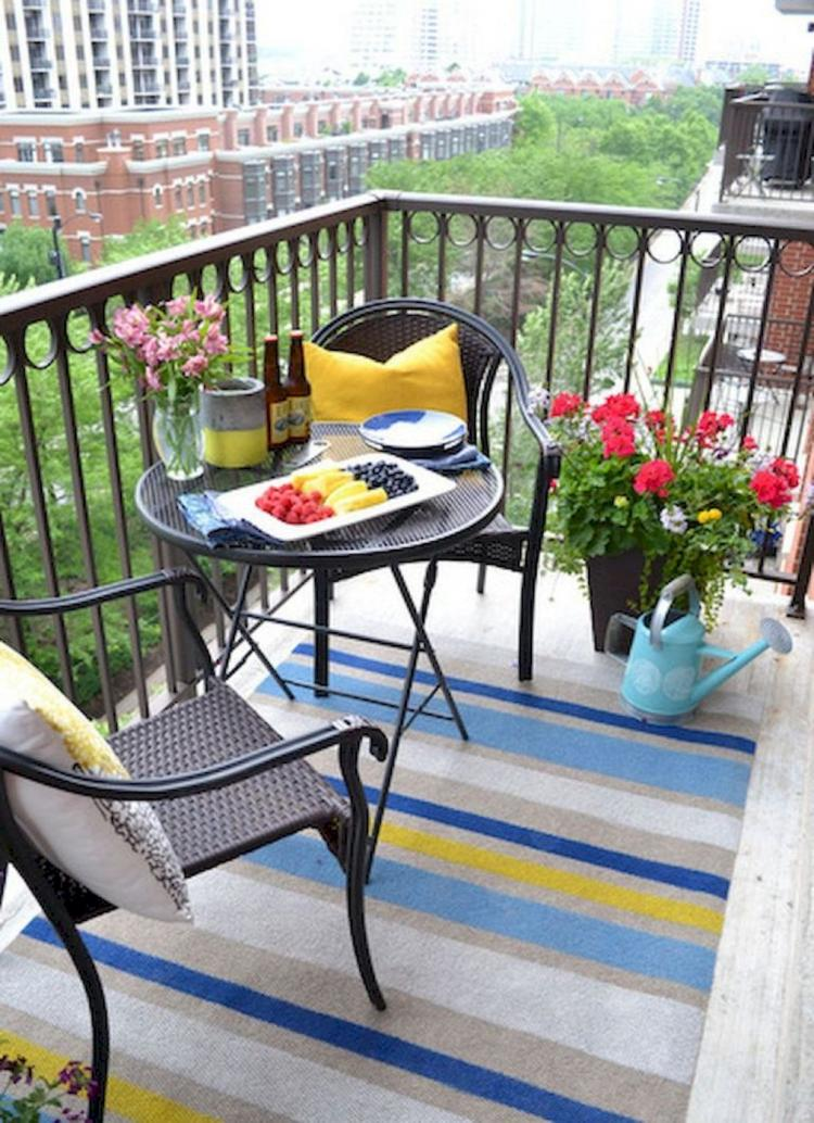 50 Best Small Apartment Balcony Decorating Ideas