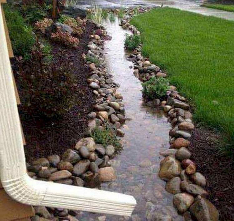Front Yard Landscaping Ideas With Rocks: 75+ Unusual Front Yard Rock Garden Landscaping Designs