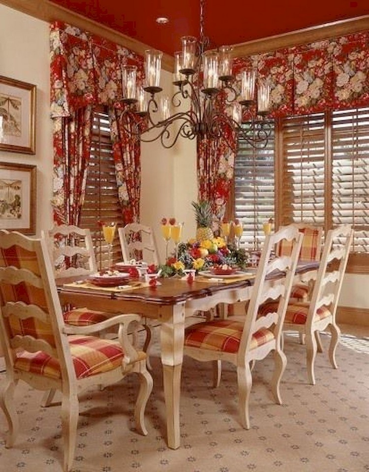 Country Dining Rooms Decorating Ideas Mycoffeepot Org