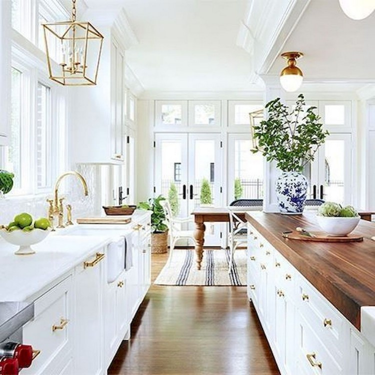 Gorgeous White Kitchen Cabinet Design Ideas