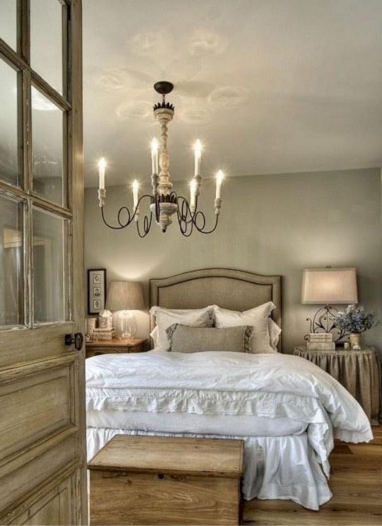 15+ Beautiful Rustic Farmhouse Style Bedroom Design Ideas