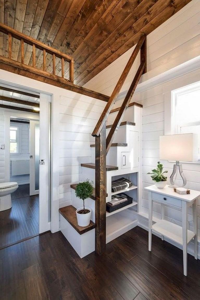 55 Inspiring Loft Stair for Tiny House Ideas