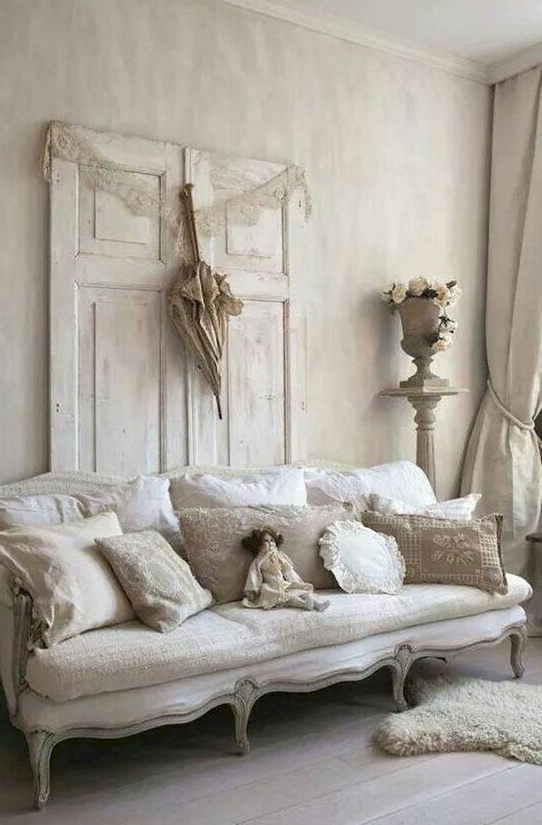 Farmhouse Chic Living Room Decor: 34+ Comfortable Chic Farmhouse Living Room Design Ideas