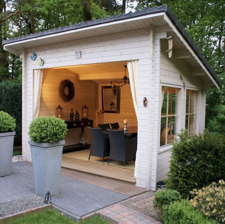 50 Por Diy Backyard Studio Shed