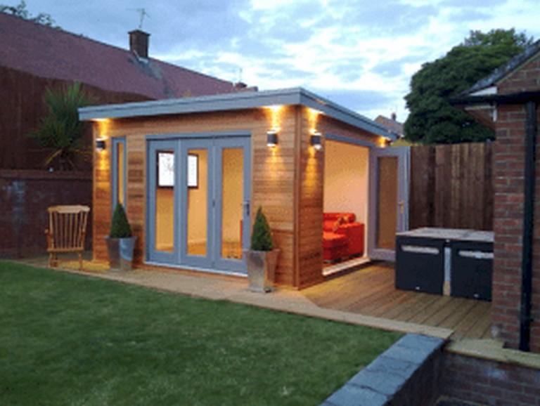 50 Popular DIY Backyard Studio Shed Remodel Design & Decor ... on Diy Backyard Remodel id=45104