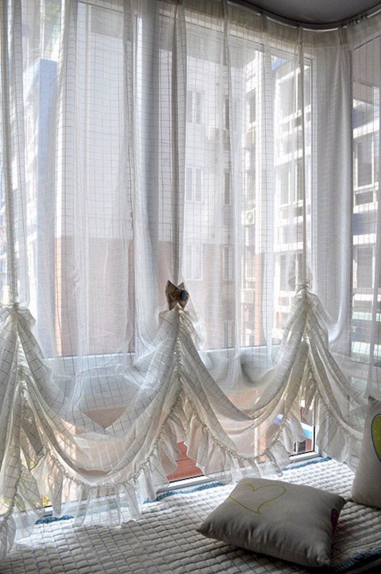 Curtains Design Ideas For Hy Little
