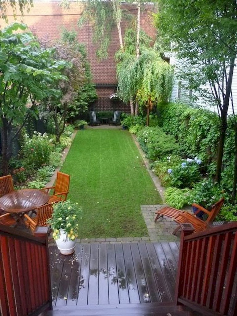 45+ Gorgeous Small Backyard Garden Landscaping Ideas on Small Yard Landscaping Ideas id=13929